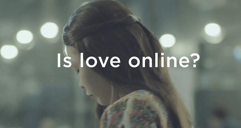 Is love online?