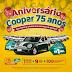 75 anos da Cooper sorteia um carro por mês