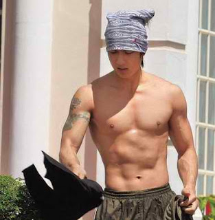 Wu Chun shirtless hot photo