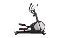 ProForm Endurance 520 E Elliptical Trainer Machine, front wheel drive system with inertia-enhanced flywheel & silent magnetic resistance