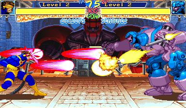 X-Men Children of the Atom+arcade+game+portable+retro+2d+fighter+download free+descargar gratis+videojuego