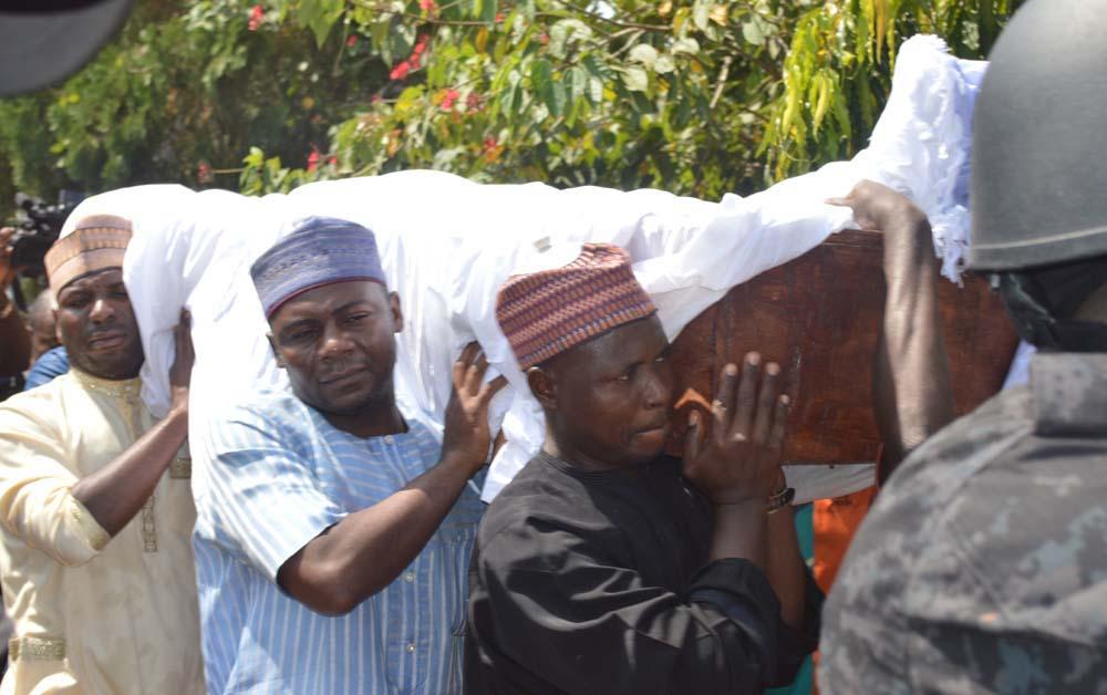 prince audu abubakar buried