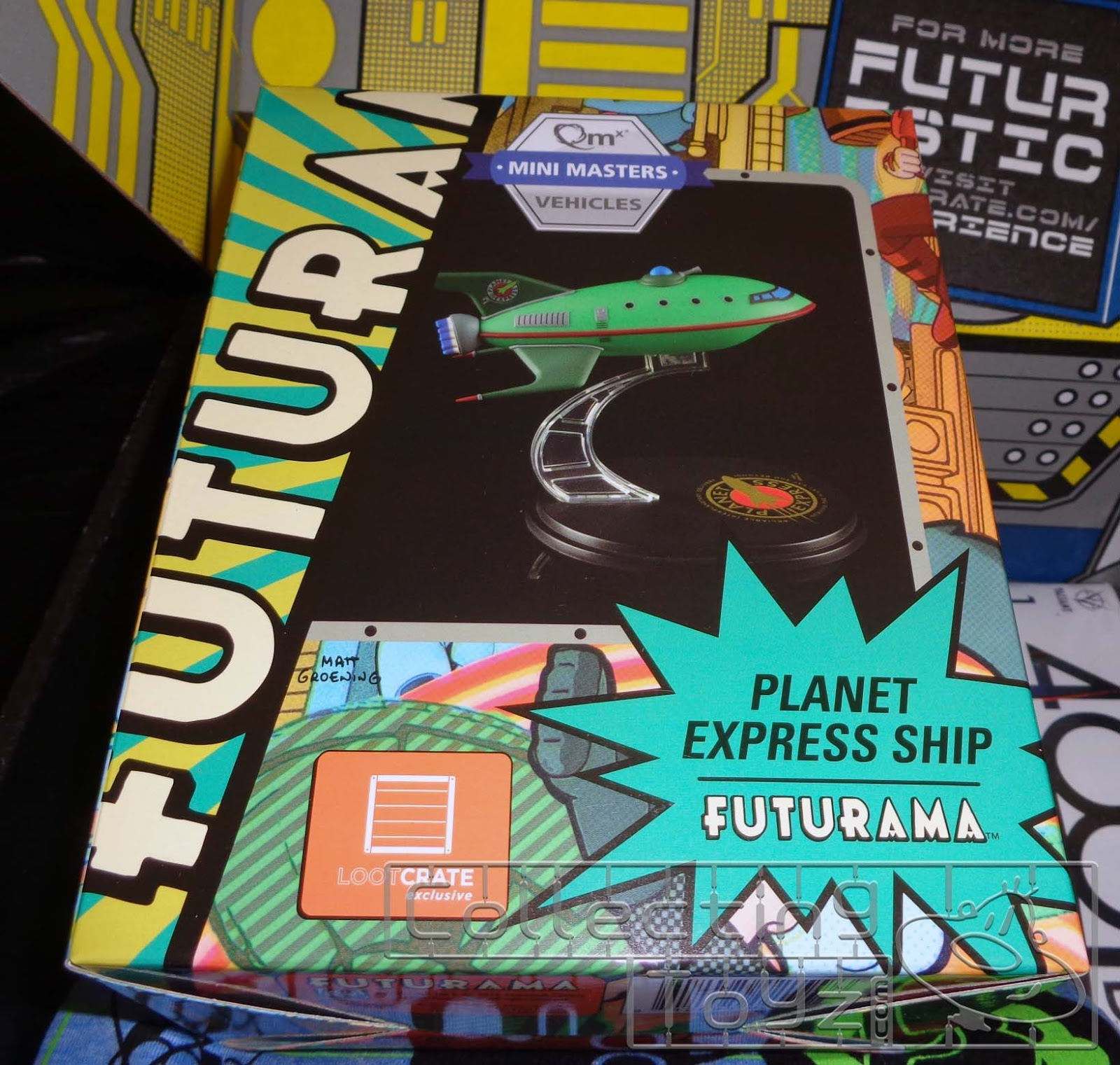 collecting toyz loot crate futuristic unboxing