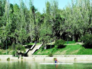 Lago do Parque General San Martín, Mendoza