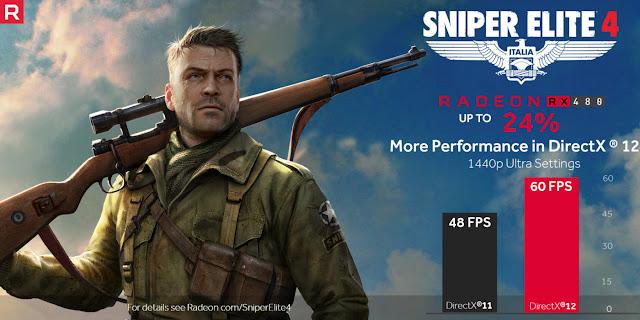 Sniper Elite 4: raddoppia il framerate su configurazioni MultiGPU