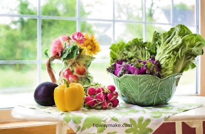 Healthy and beautiful with a raw food diet