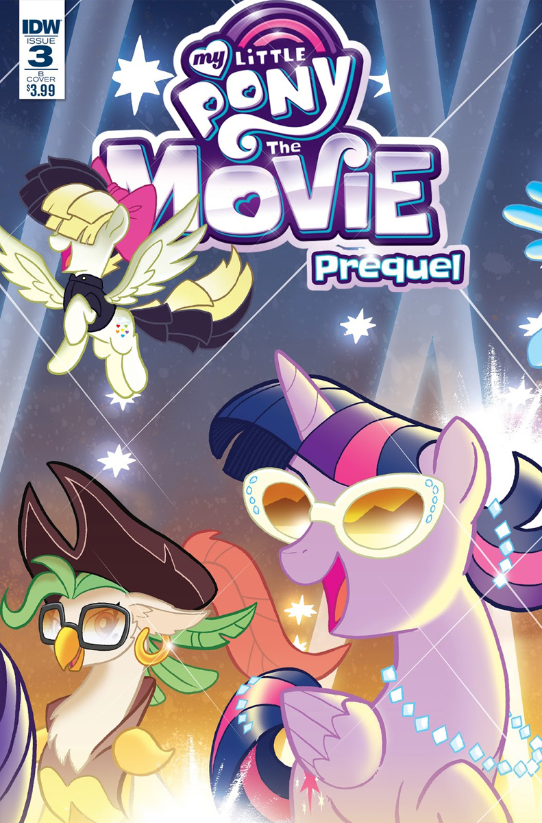 What Is A Gfi >> MLP My Little Pony: The Movie Prequel Issue & 3 Comic Covers | MLP Merch