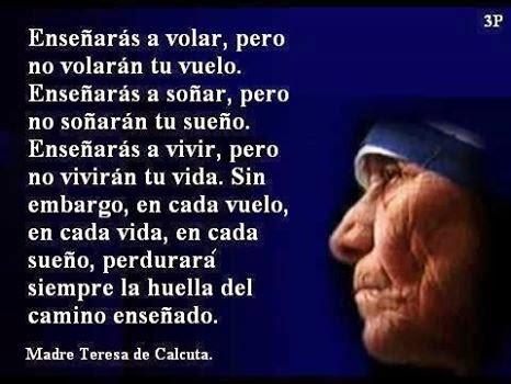 Lazos De Arte Y Amistad Dichos De La Madre Teresa De Calcuta