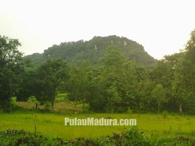 Gambar Gunung Geger di Kecamatan Geger - Bangkalan - Madura