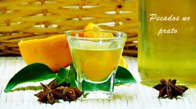 Receita de licor caseiro de laranja
