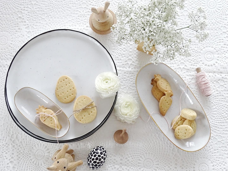 Schnell gemachte Shortbread-Kekse als Last Minute Idee und Mitbringsel zu Ostern - Wochenlieblinge - https://mammilade.blogspot.de