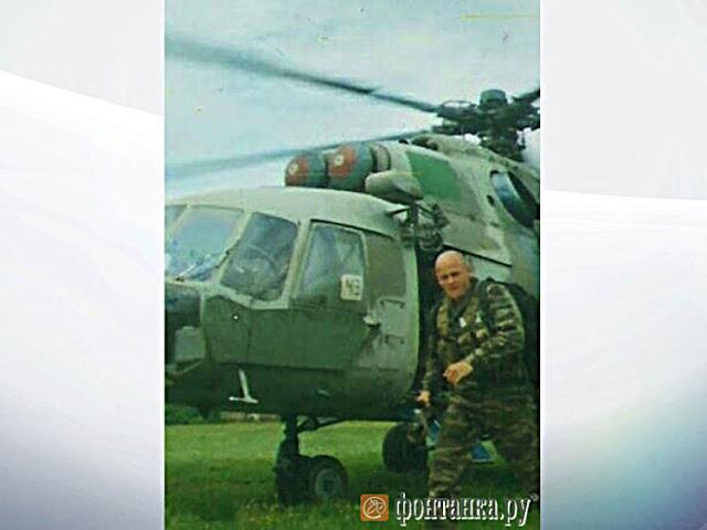 A única foto conhecida do líder de 'milicianos das sombras' Wagner Nikolai Utkin.