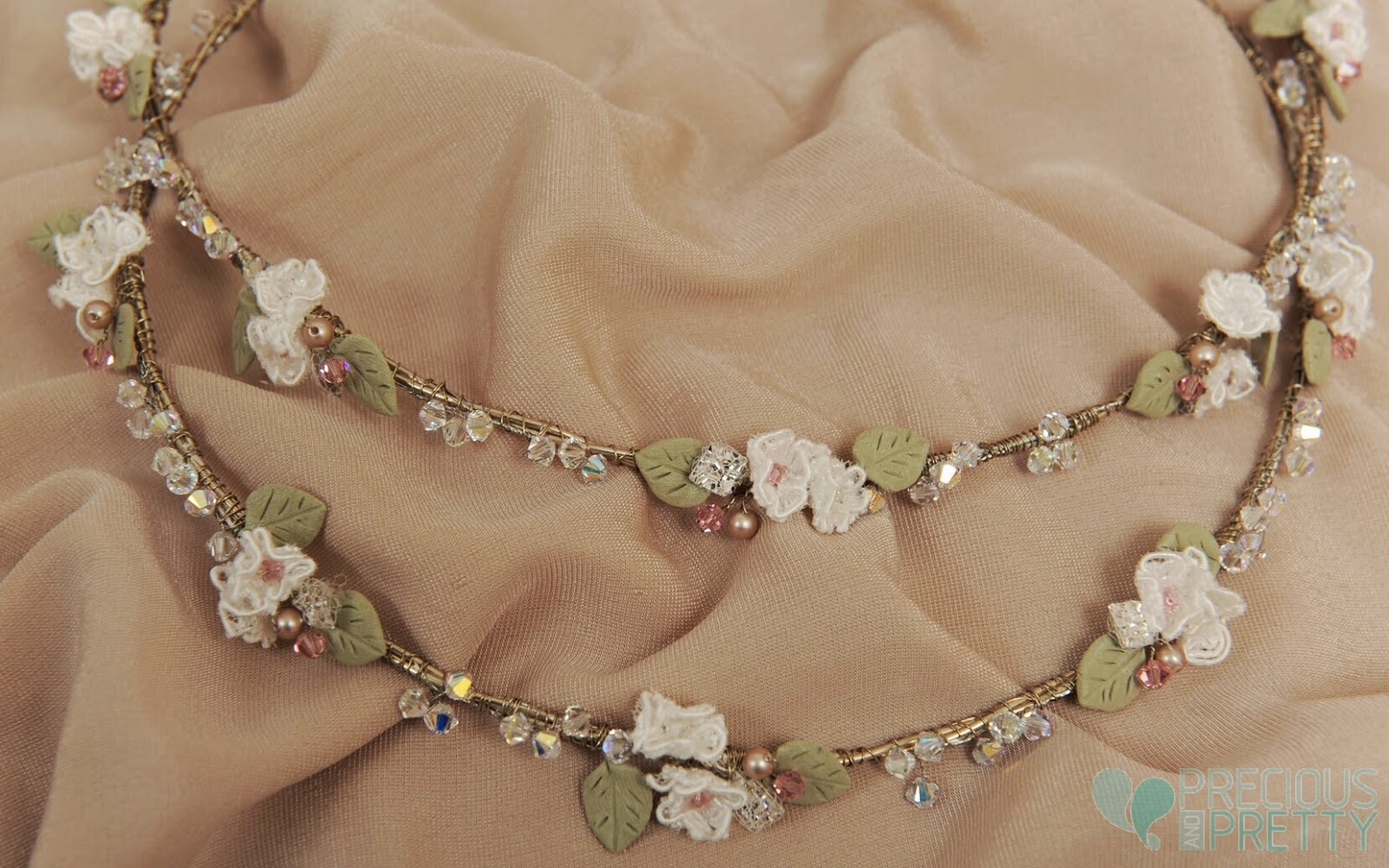 romantic stefana wedding crowns from Greece