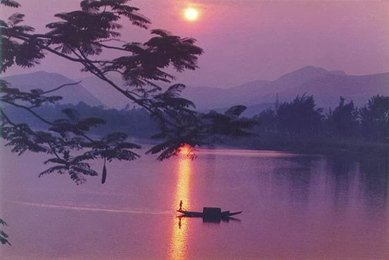 And quiet flows the Huong River 12