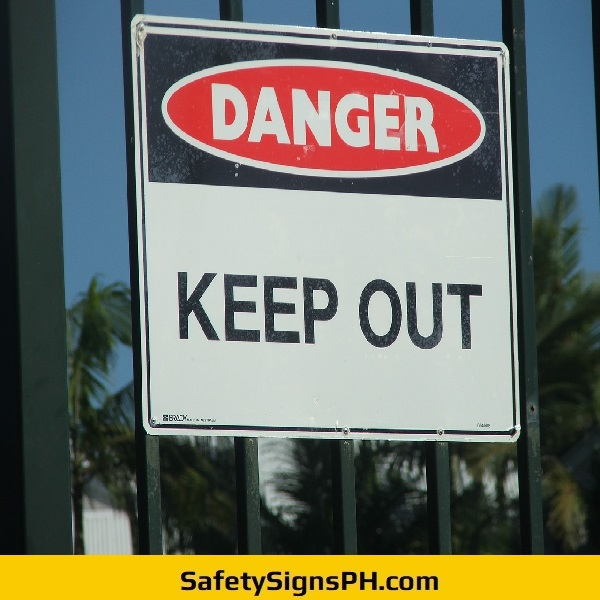 Danger Keep Out Sign Philippines