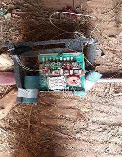 IED bomb assemled. PHOTO | Courtesy