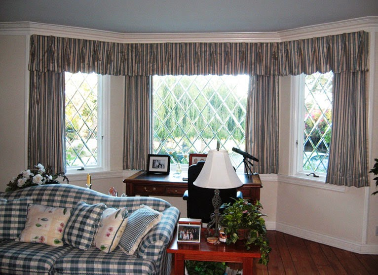 Curtain Ideas For Living Room Bay Window: Curtain Ideas: Curtain Ideas For Living Room Bay Window
