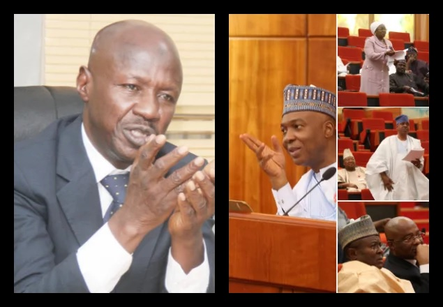 Senate gives condition to reconsider Magu's condition
