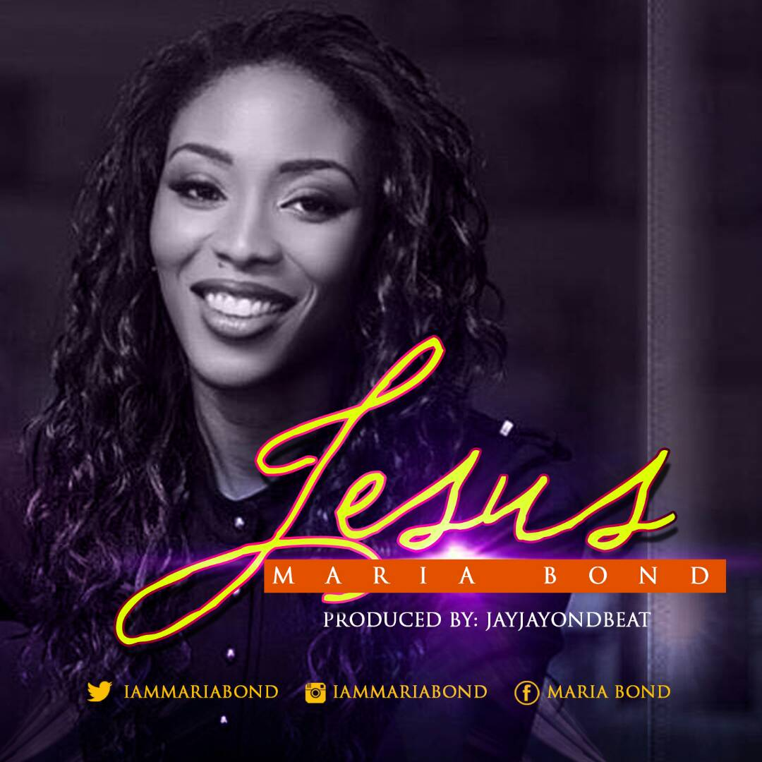 Jesus by Maria Bond