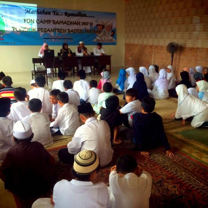 Ini Camp Ramadhan Asik di Pesantren Baitul Hikmah Depok, Bangun Akhlak Mulia Anak