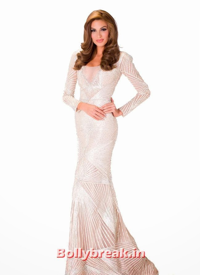 Miss Venezuela, Miss Universe 2013 Evening Gowns Pics