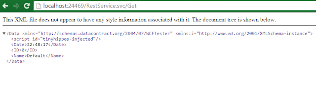 WCF Error - Service Attribute value could not be found in ServiceHost directive