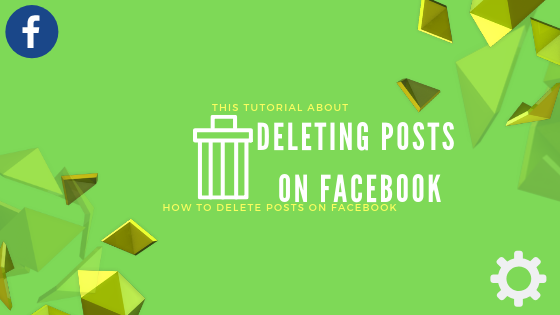 Deleting A Post On Facebook<br/>