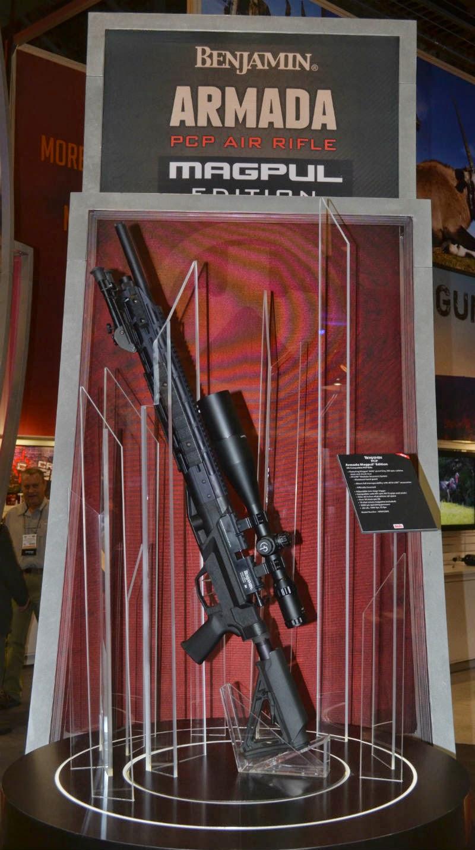 Blueflax Airguns: Benjamin Armada
