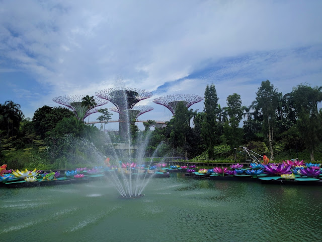 Gardens by the Bay - lake