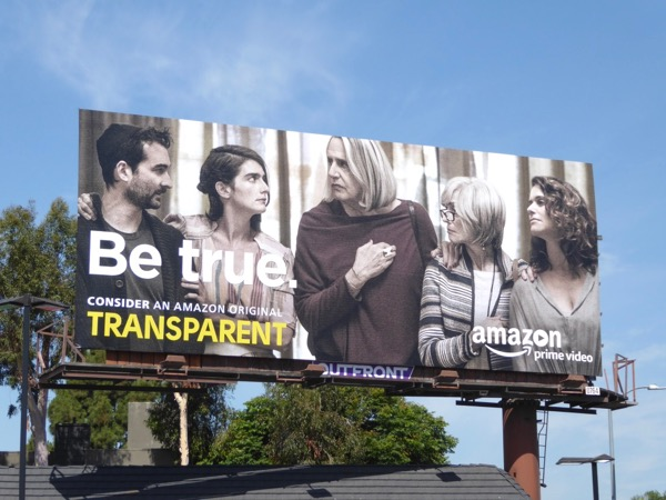 Transparent Be True 2017 Emmy billboard
