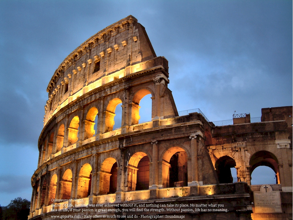 Colosseum Rome Biggest Amphitheatre