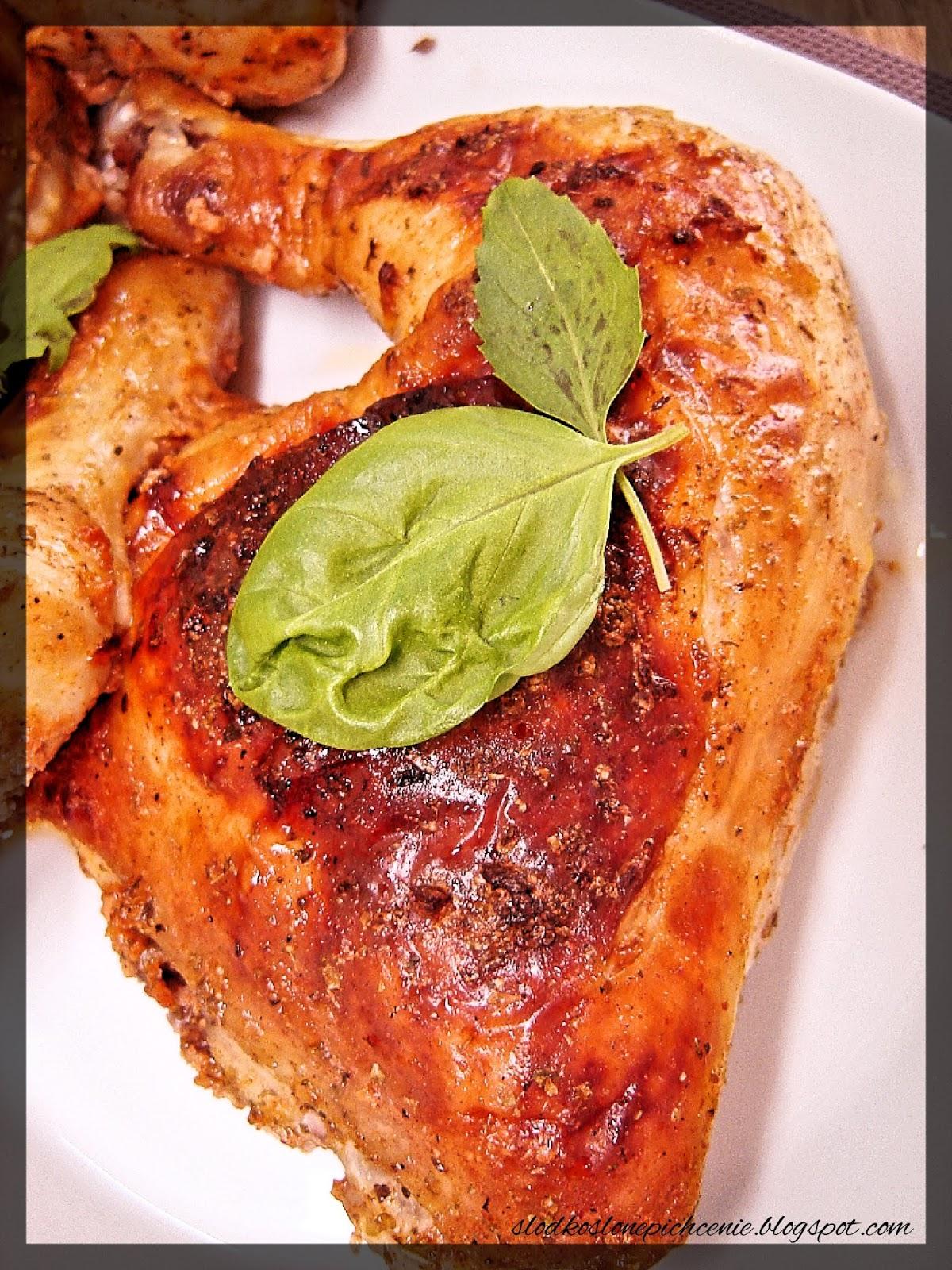 Kurczak pieczony w maślance