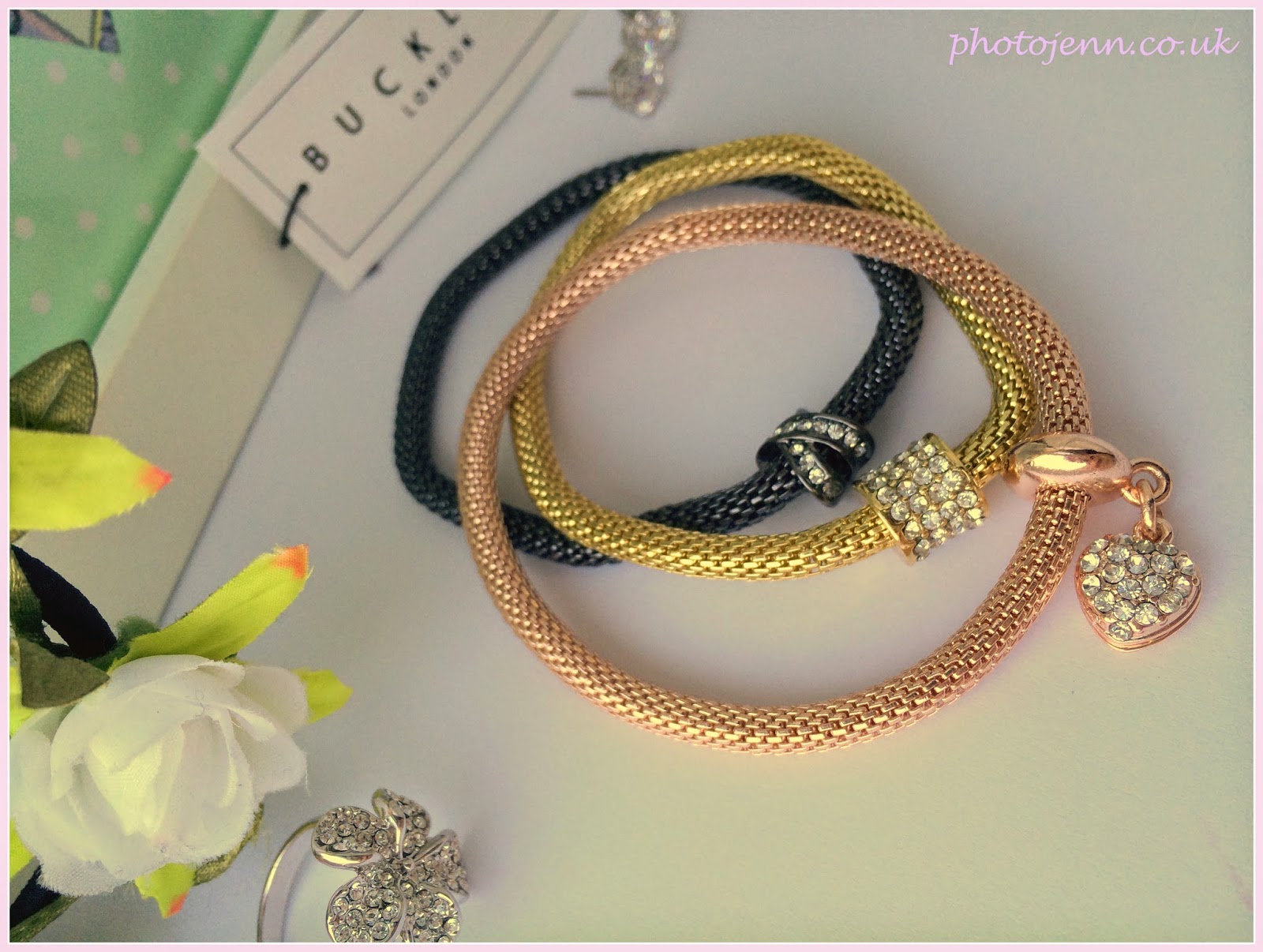 buckley-london-sparkle-mesh-bracelets-rose-gold