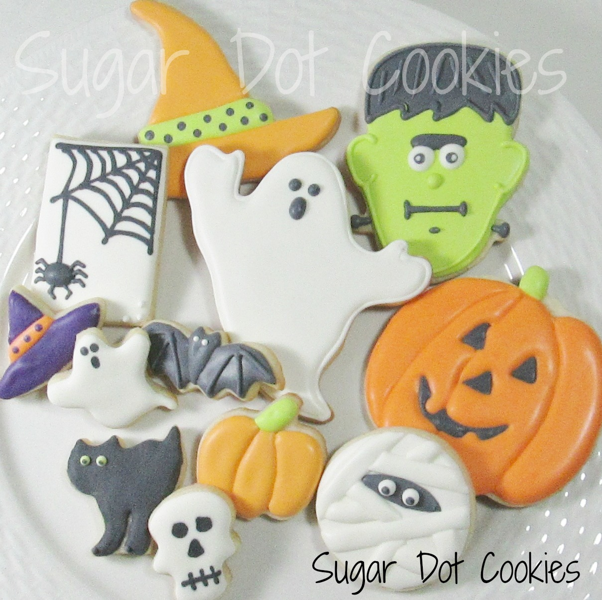 cookie decorating class in frederick md - Decorated Halloween Sugar Cookies