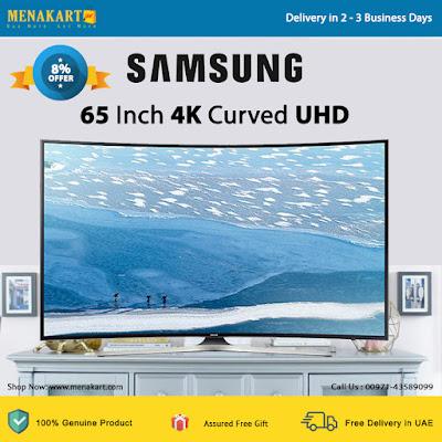 Samsung 65 Inch 4K Curved UHD Smart LED TV
