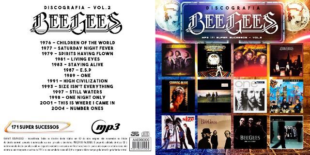 MP3 – Bee Gees – Discografia 2 (2018)