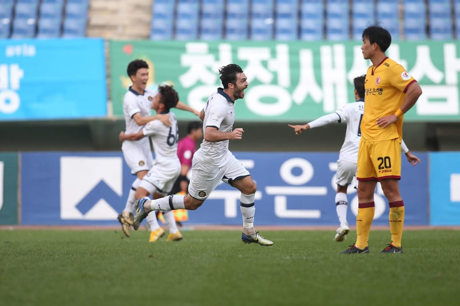 Playoff Writers' Chat: Daejeon Citizen vs Gwangju FC K League 2 Aurelian Chitu