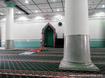 Tampak Dalam Masjid Jamae (Chulia)