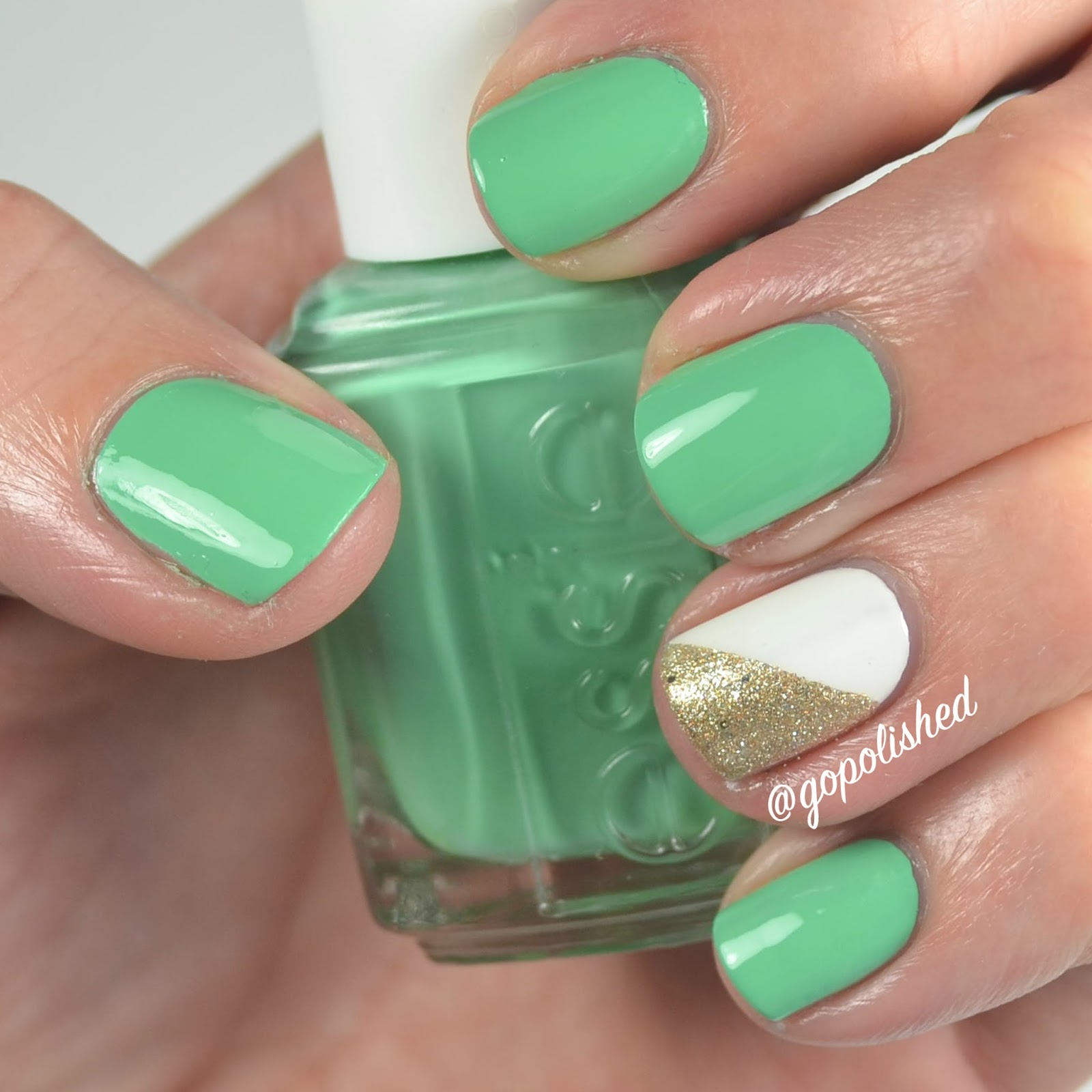 Go Polished: Easy St. Patrick\'s Day Nails