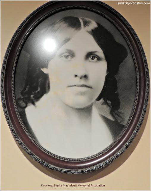 Foto que hice en el Museo del Concord: Louisa May Alcott www.concordmuseum.org