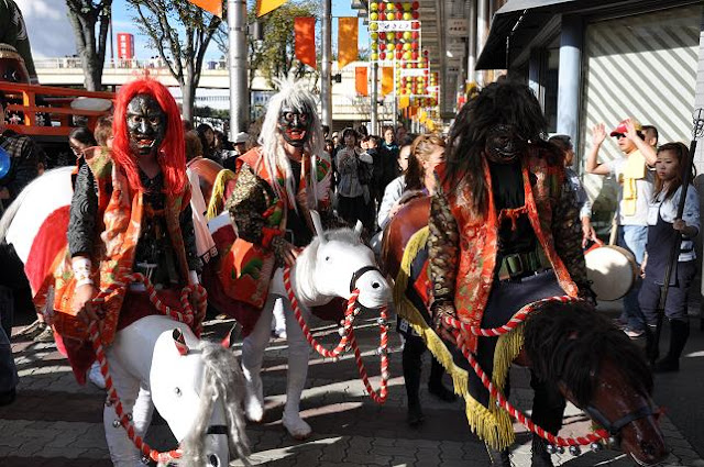 Tsu Matsuri (dance & parade), Tsu City, Mie Pref.