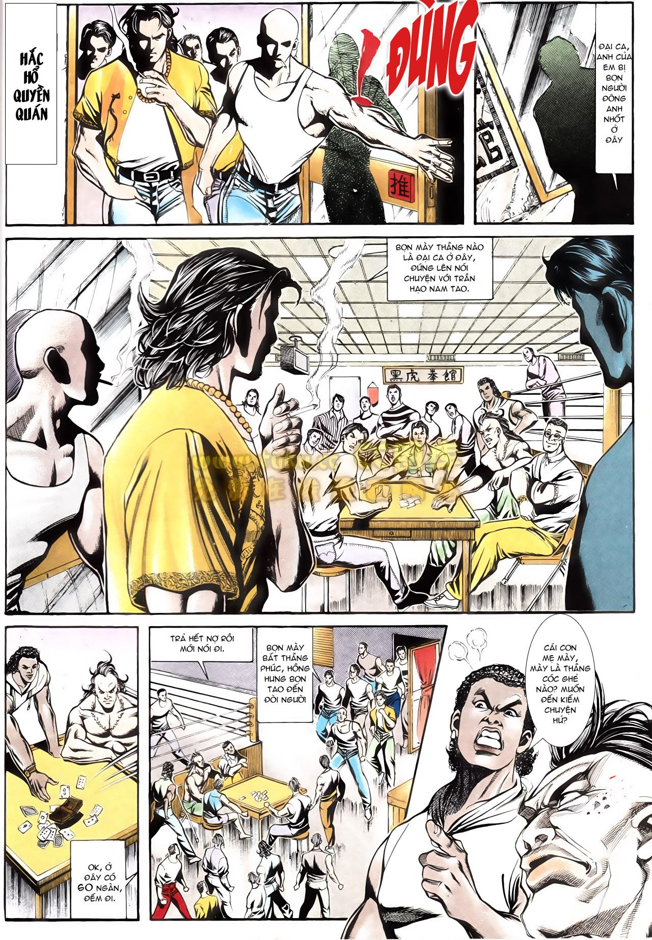 Người Trong Giang Hồ chapter 164: hạo nam chiến quạ đen trang 16