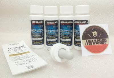 Jual Kirkland Minoxidil Obat Penumbuh Rambut Kumis Jenggot dan Brewok