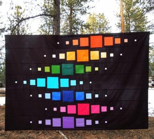 Modern Bargello Quilt - Free Pattern