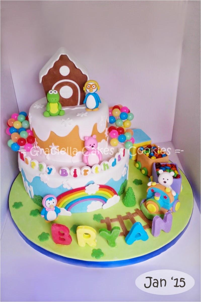 92b8f2dee Labels: Birthday, Brownies, Cake decoration, Chocolate, Fondant, Goodie  bag, Pororo, Tiers