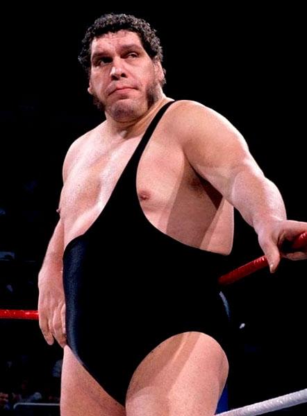 Pressing Catch WWF - André el Gigante