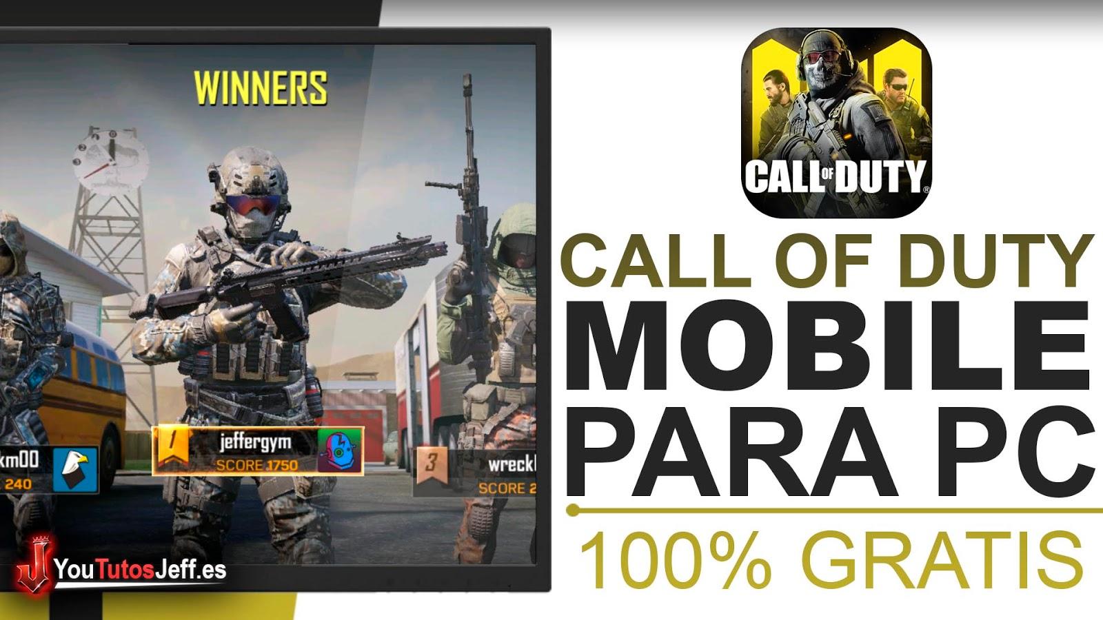 Descargar Call Of Duty Mobile para PC SIN LAG