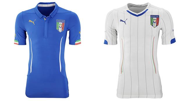 Camisetas selección Italia Mundial 2014