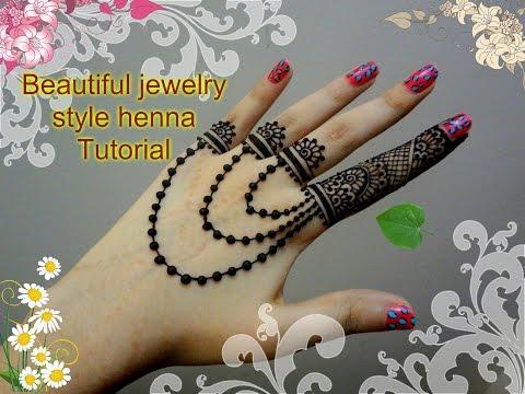 Henna Jewellery Mehndi : India mehndi henna: jewellery henna design