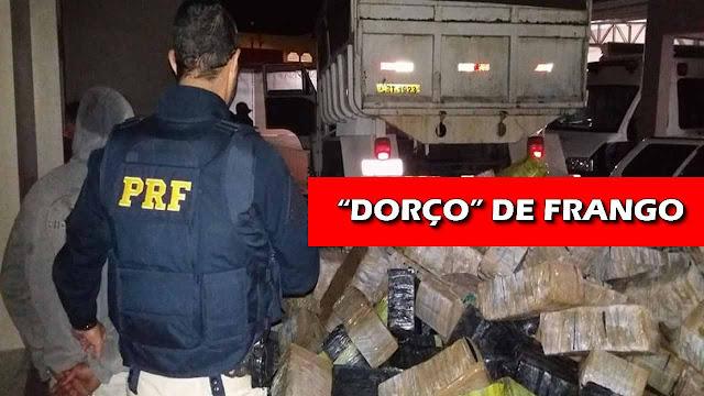 'Dorço' de frango: erro ortográfico faz polícia achar 4 toneladas de maconha.